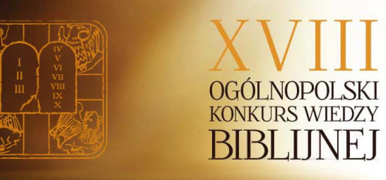 SUKCES AGATY DUDEK – XVIII Ogólnopolski Konkurs Wiedzy Biblijnej