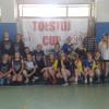 W ramach festynu szkolnego w ZSP 4 katedra wychowania fizycznego przygotował turniej siatkówki dla gimnazjalistek