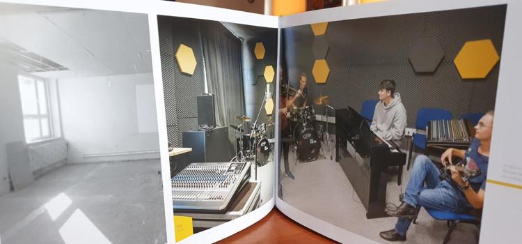 O naszym Studio Nagrań w albumie Urzędu Marszałkowskiego z najlepszymi projektami z Funduszy Unijnych