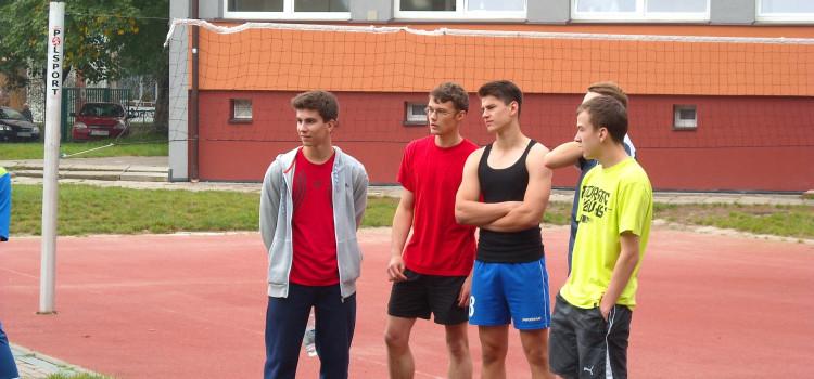 Zawody lekkoatletyczne 2.10.2014 r.