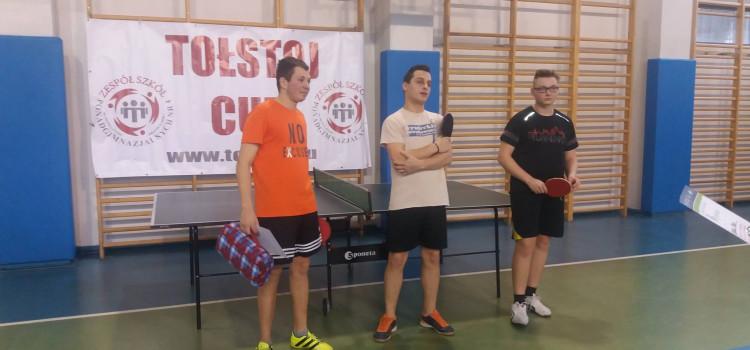Mistrzostwa Szkoły w Tenisie Stołowym 2018
