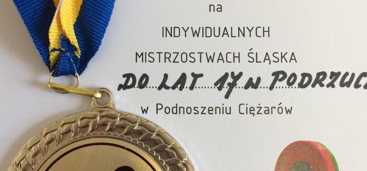 Sukces na indywidualnych Mistrzostwach Śląska w podnoszeniu ciężarów