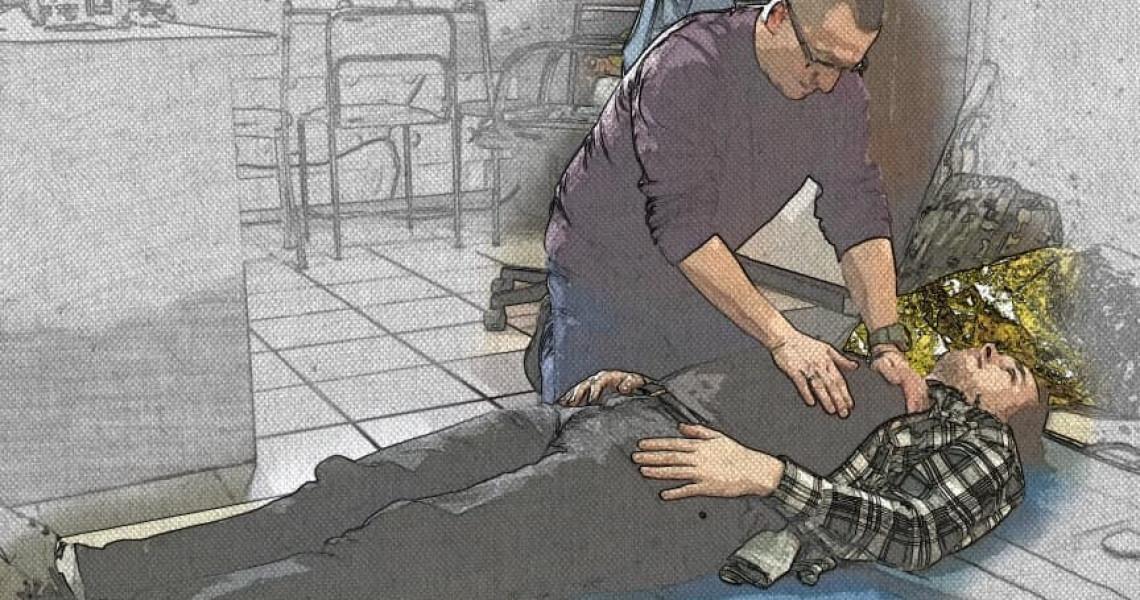 Szkolenie wszystkich pracowników naszej szkoły z zakresu pierwszej pomocy