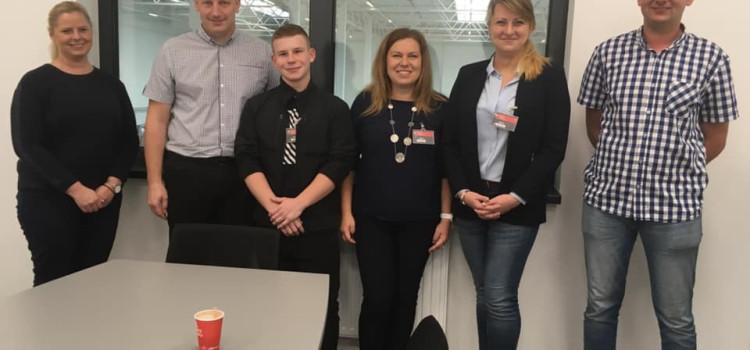 Współpraca w sprawie praktyk z firmą IWM Automation Polska