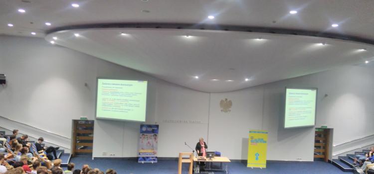 10 września 2019 roku klasy technikum IV BC i IV EM wzięły udział w salonie Maturzystów w Gliwicach, w budynku Centrum Edukacyjno-Kongresowym Politechniki Śląskiej
