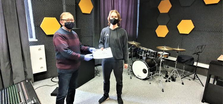 Uczniowie realizacji nagrań i nagłośnień otrzymali certyfikaty Avid Pro-Tools!!!