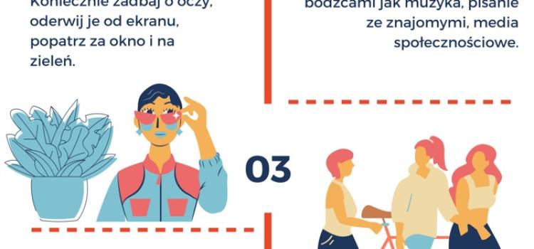 5 zasad zdrowszej nauki zdalnej