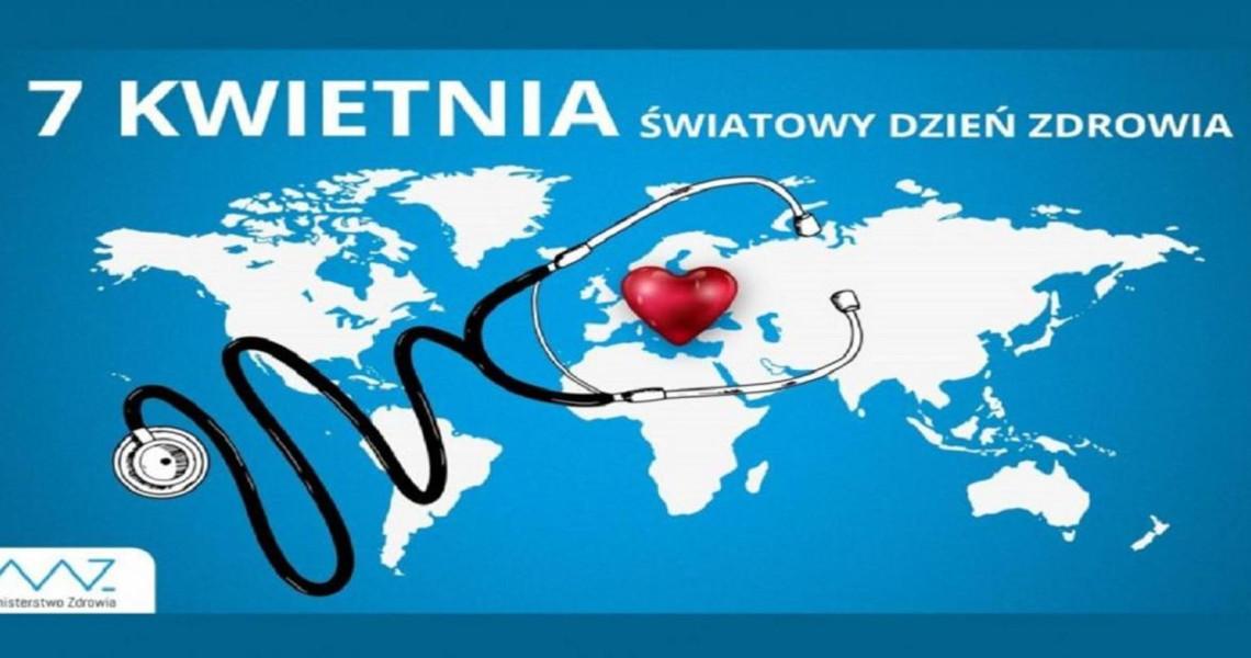 Światowy Dzień Zdrowia obchodzony jest każdego roku w dniu 7 kwietnia, w rocznicę założenia Światowej Organizacji Zdrowia (WHO)
