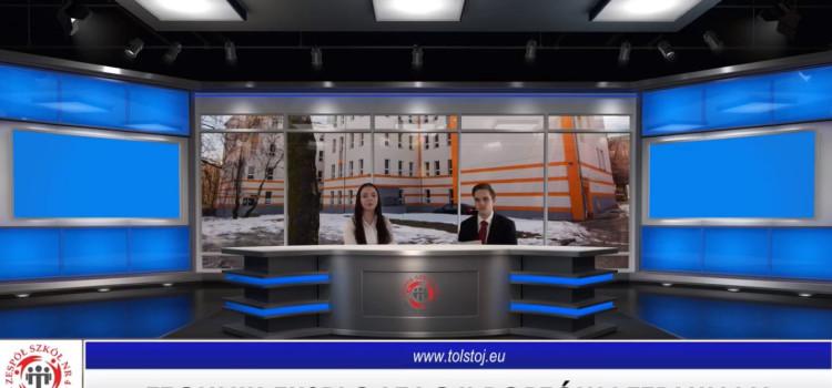 No i przed weekendem jeszcze raz łączymy się ze Studiem Tołstoj 13.Tym razem prezentujemy nasz kierunek Technik eksploatacji portów i terminali