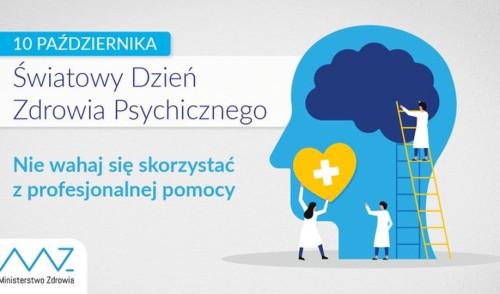 Dziś 10 października obchodzimy Światowy Dzień Zdrowia Psychicznego
