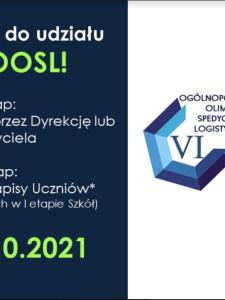 Zapraszamy do udziału w VI edycji Ogólnopolskiej Olimpiady Spedycyjno-Logistycznej, Uniwersytet Gdański