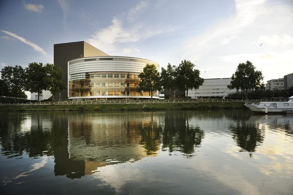 Centrum kongresowe w Nantes (Francja)