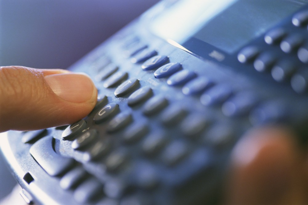 Finger on Keyboard Pad ca. 2002